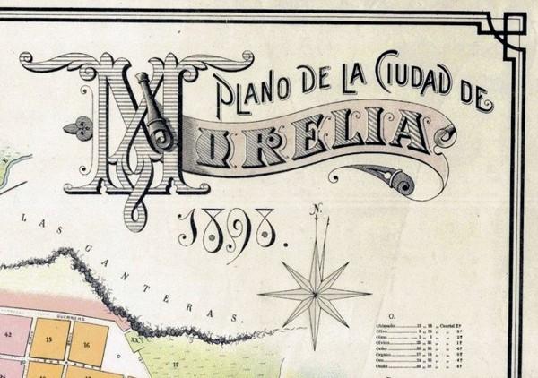 Cartografía Histórica de Morelia