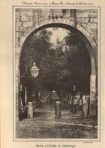 Calzada de Guadalupe, México Pintoresco, Tomo III, entre 444-445