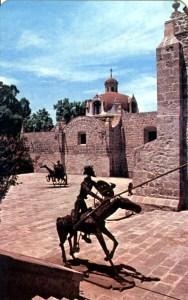 Patio del Quijote, Casa de la Cultura, ex Convento de El Carmen