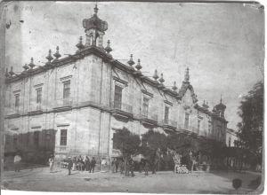 Palacio de Gobierno, antiguo Seminario Tridentino de San Pedro, 1909