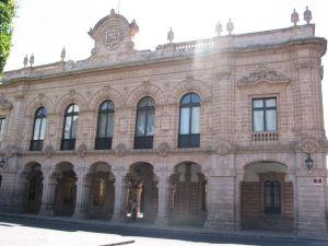 Museo de Justicia, antes Palacio de Justicia, antes Casas Consistoriales y Cárcel Pública, Morelia