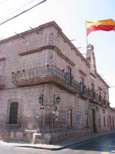Antigua Factoría de Tabacos, hoy Palacio del H. Ayuntamiento de Morelia