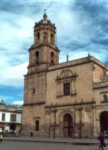 Templo de San Francisco, Morelia, Michoacán.