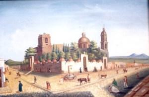 Templo de San Francisco, Templo de la Cofradía de La Tercera Orden y atrio del Cementerio de San Francisco, por Mariano de Jesús Torres.