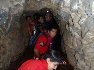 Túnel real en la ciudad de Morelia, creado en el siglo XVIII.