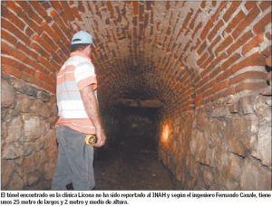 Túnel descubierto en Hermosillo, Sonora...