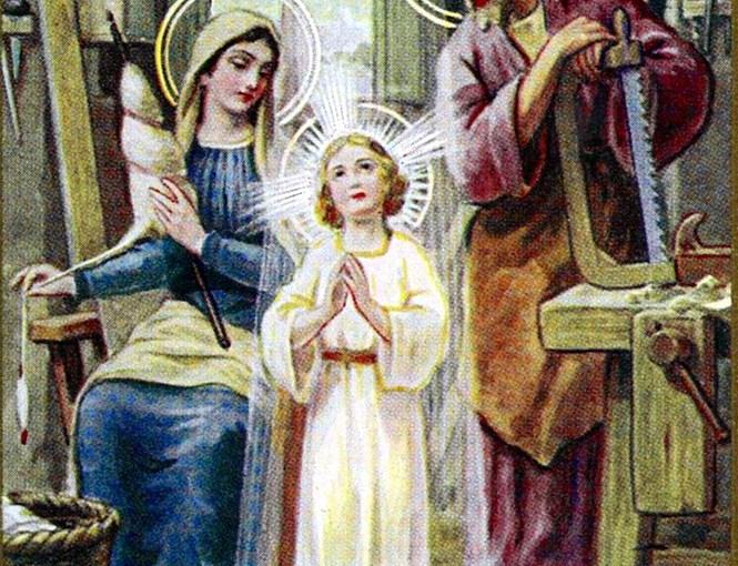 Imágenes católicas de la casa Gili