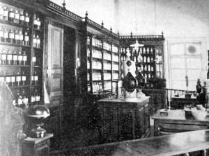 Interior del Hospital, 1901.