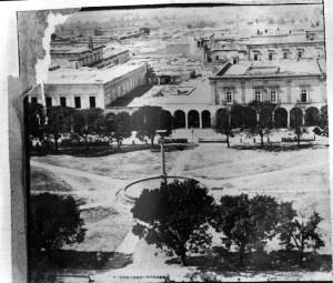 Plaza de los Mártires, Plaza de Armas, 1870