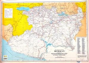 Carta General del Estado de Michoacán 1977