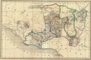 Atlas geografico, estadistico e historico de la Republica Mexicana. Carta XIV. Michoacán, 1858 (sólo el mapa).
