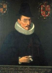 Diego Carrillo de Mendoza y Pimentel, Marqués de Gelves y conde de Priego