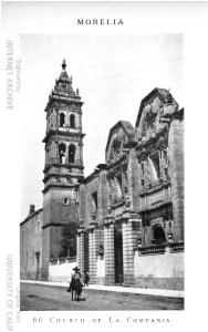 """Sagrario Metropolitano de Santa Catalina de Sena, o Las Monjas. Erróneamente identificado como """"La Compañía""""."""