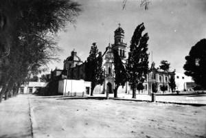 Santuario de Guadalupe hacia 1920