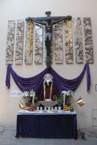 Altar de Dolores en el Museo de Arte Colonia, Morelia