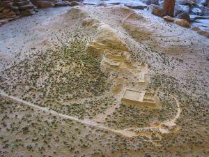 Maqueta del sitio en el museo del lugar