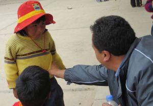 Child in Tinque, Cusco