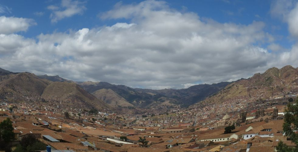 Fisheye over Cusco