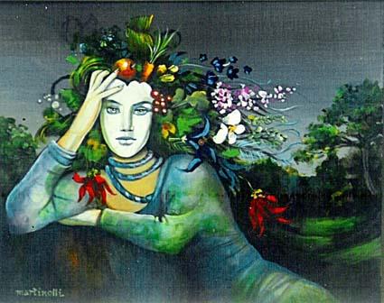 Mulher, do artista plástico Sérgio Martinolli