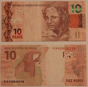 Nota brasileira de 10 Reais