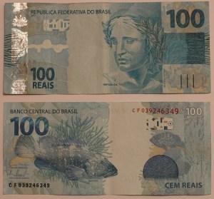 Nota brasileira de 100 Reais