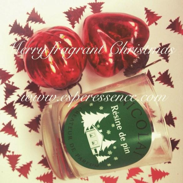 Merry fragrant Christmas