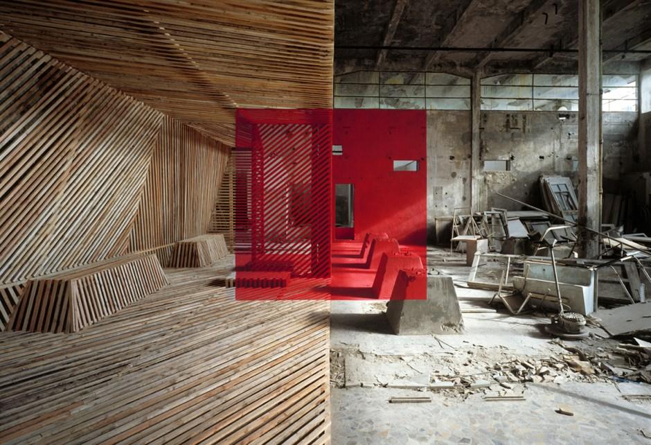 Georges Rousse arts visuels critique