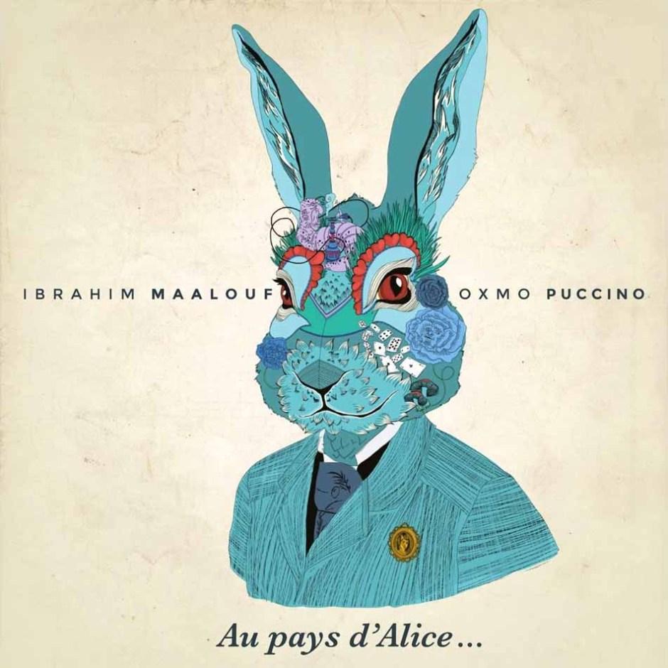 Critique musique sur le blog esperluette : Au pays d'Alice, Ibrahim Maalouf & Oxmo Puccino