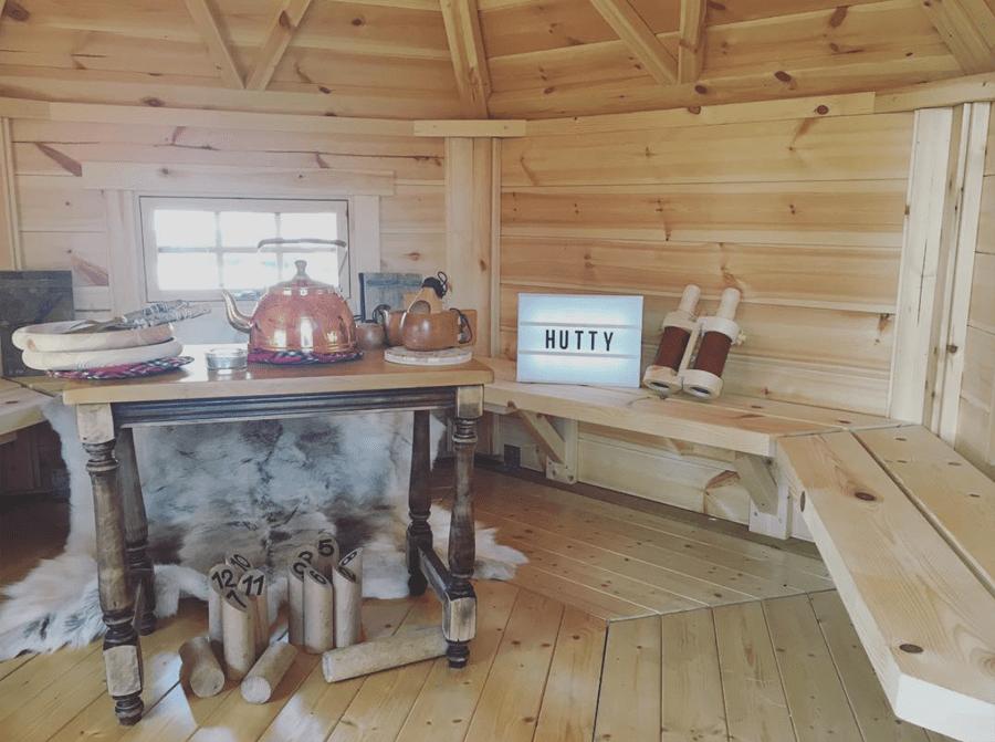 Les petites maisons en bois Hütty