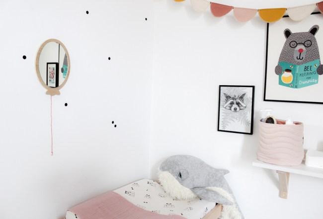 Les nouveautés déco de la chambre enfant de Louise