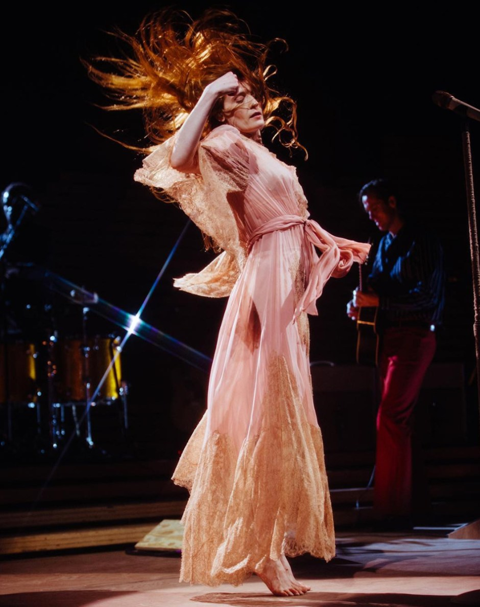 Florence + The Machine en concert - High as Hope - Copyright Lillie Eiger