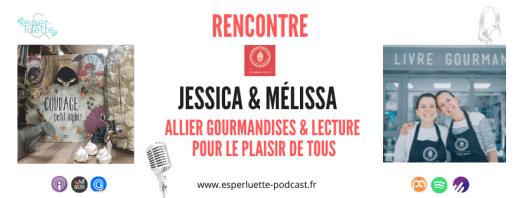 Rencontre sur Esperluette avec Jessica et Mélissa, les créatrices du Livre Gourmand à Carpentras