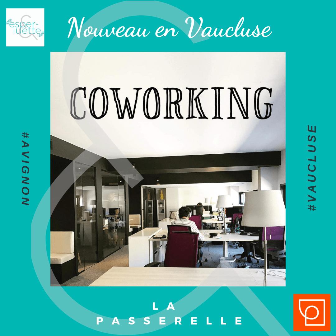 La Passerelle Espace de Coworking à Avignon