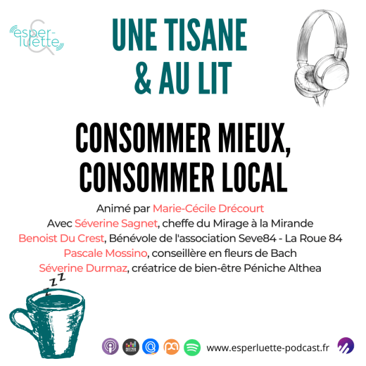 Consommer mieux, consommer local - Esperluette podcast