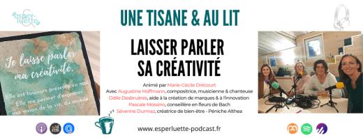 Laisser parler sa créativité - Esperluette Podcast