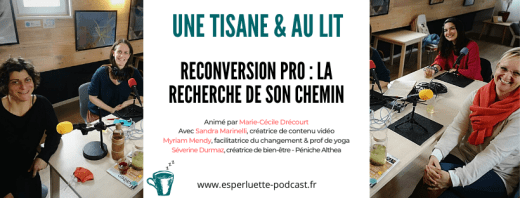 Reconversion professionnelle - Esperluette Podcast