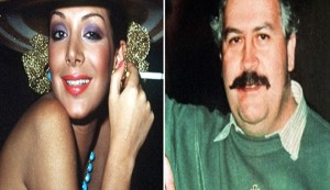 Virginia Vallejo y Pablo Escobar