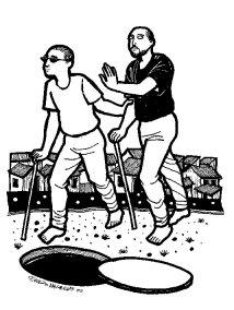 ¿Acaso puede un ciego guiar a otro ciego?