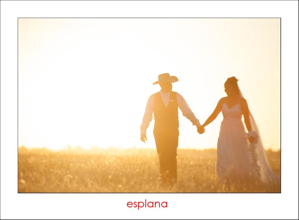 { James + Belinda }  –  Culcairn Wedding Photography
