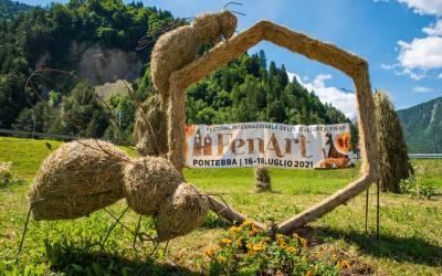 Fen Art, le sculture di fieno a Pontebba