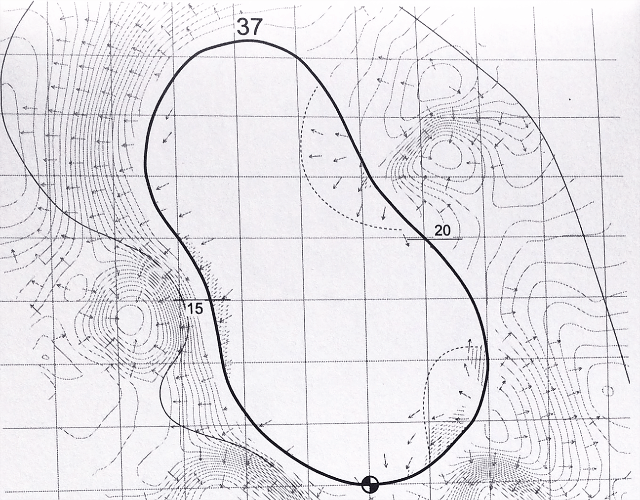 Notes From The Yardage Book The Key To 16 At The Waste