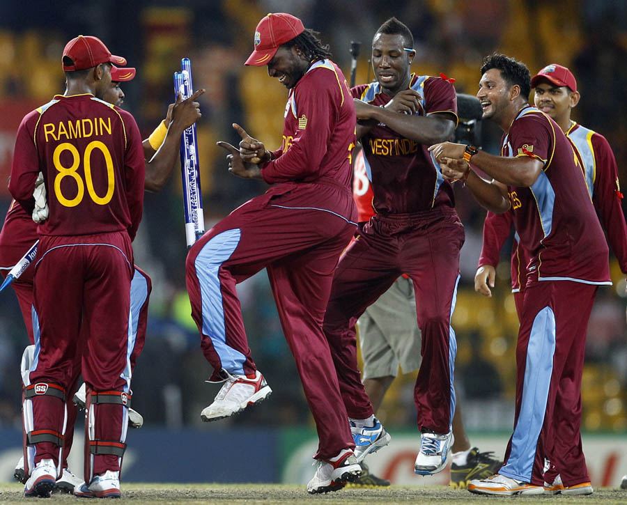Gayle does a Gangnam style!