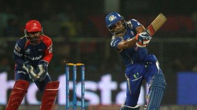 Mumbai Indians v Sunrisers Hyderabad IPL 8
