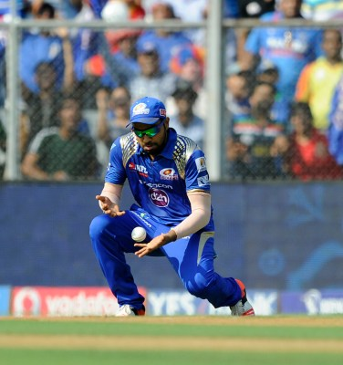 IPL 8 Match 51 Mumbai Indians v Kolkata Knight Riders