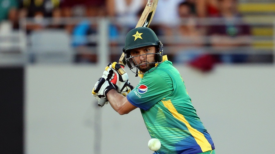 Shahid Afridi, though, smashed 23 off eight balls to lift Pakistan to 171 for 9