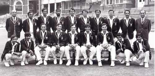 Indian Cricket Team 1971.