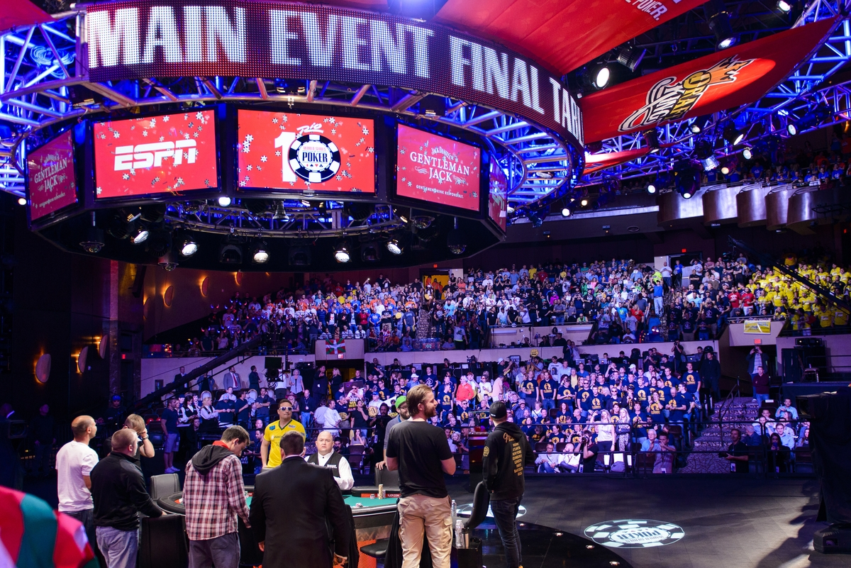 Image result for world series of poker main event