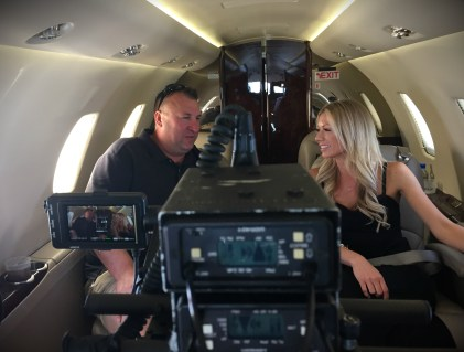 Viewers will travel with Bret Bielema and his wife Jennifer. (Photo courtesy of Mike McKinnis/JM Associates)