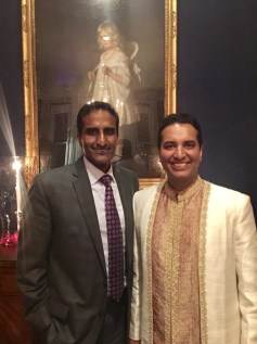 Kevin with the first Indian American General in the U.S. military, Brigadier General Balan R. Ayyar.(Photo courtesy of Kevin Negandhi)