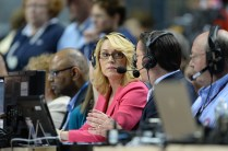 Doris Burke during the 2014 Women's Final Four games. (Allen Kee/ESPN Images)